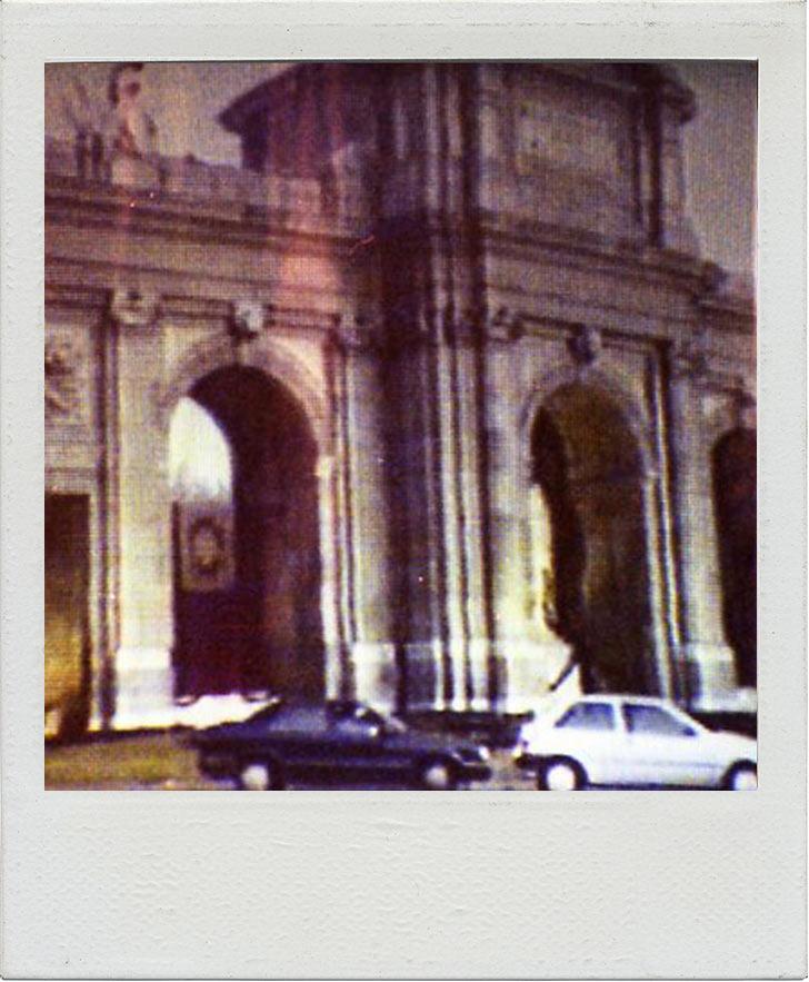 Artistieke Sociale Actie: Alles-voor-Volk-en-Vaderland,-Madrid-3-januari-1992